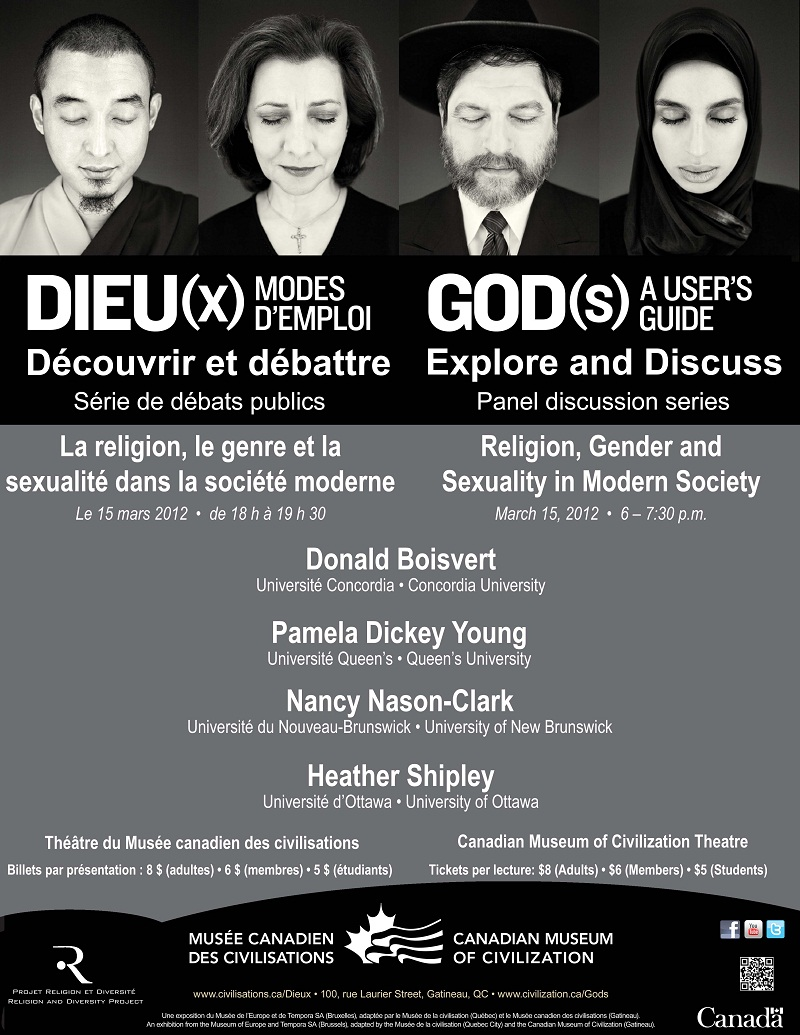 Poster - Religion, Gender and Sexuality